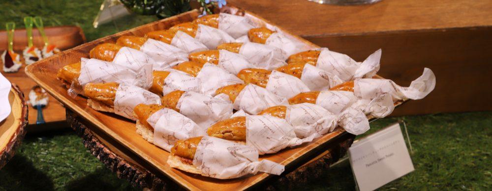 サツマイモとパンチェッタのスイートポテト