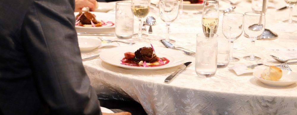 【肉料理】牛頬肉と秋果イチジクの赤ワン煮 秋の香り もって菊の彩り