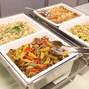 ハラール対応 温製大皿料理