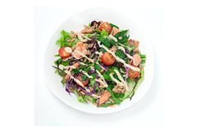 スペルト小麦と春野菜のサラダ アーモンドドレッシング