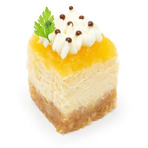 パイナップルのチーズケーキ