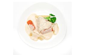 冬野菜とチキンのブランケット