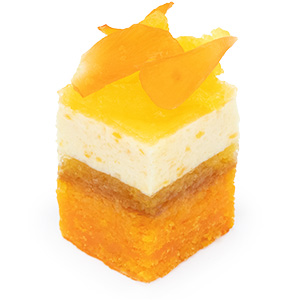 オレンジと杏子のビタミンカラーケーキ