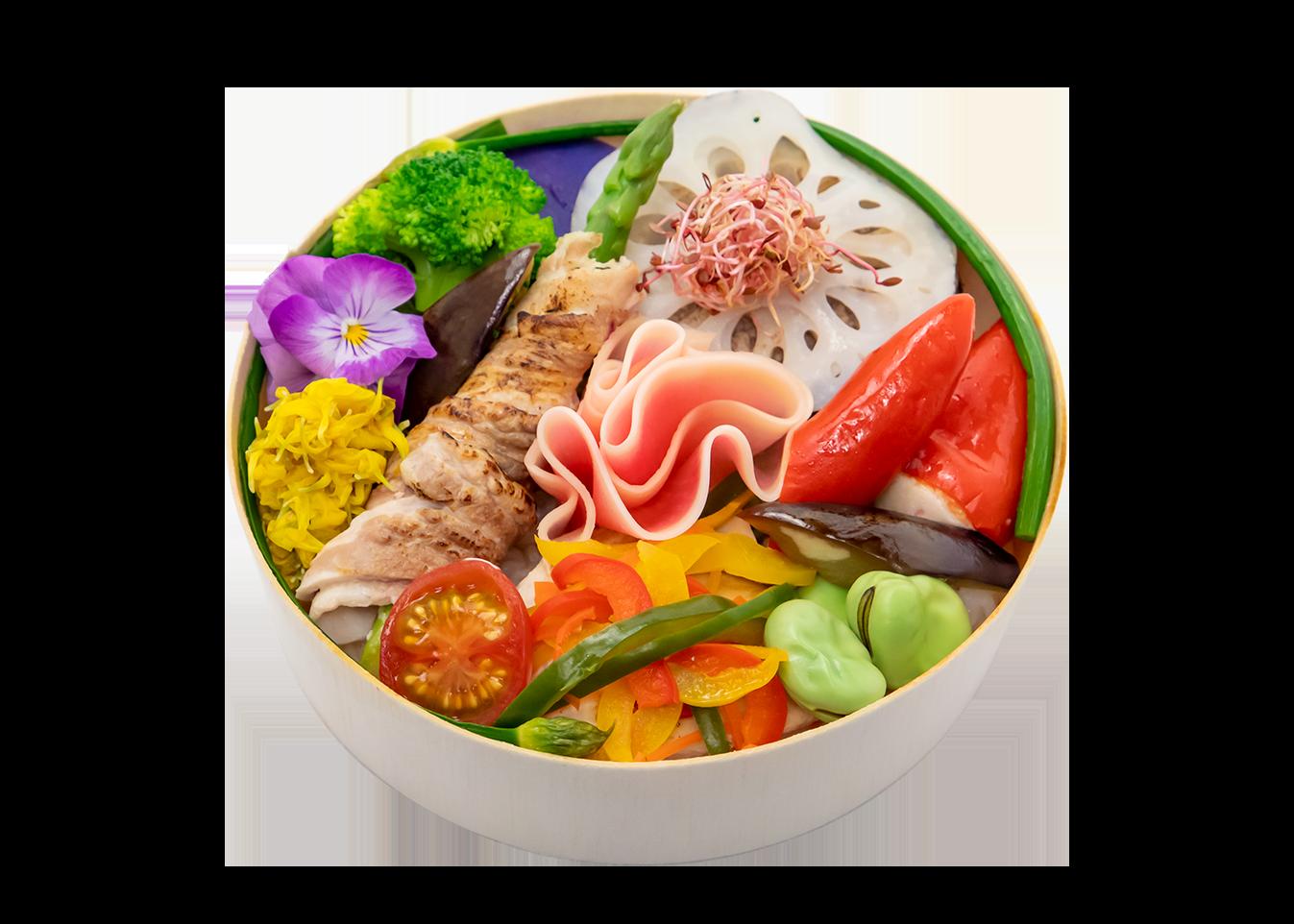 野菜わっぱ弁当