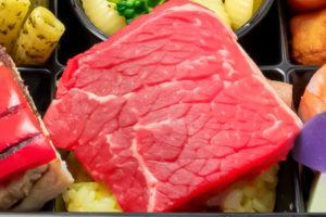 牛サーロインのステーキ