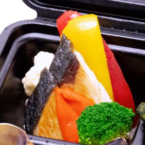 鮮魚のソテー パプリカソース