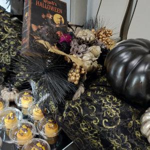 ハロウィンに欠かせないジャックオランタンをケーキで再現
